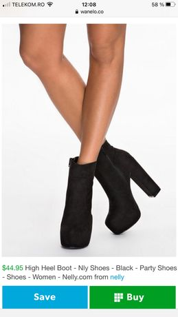 Botine Nly Shoes