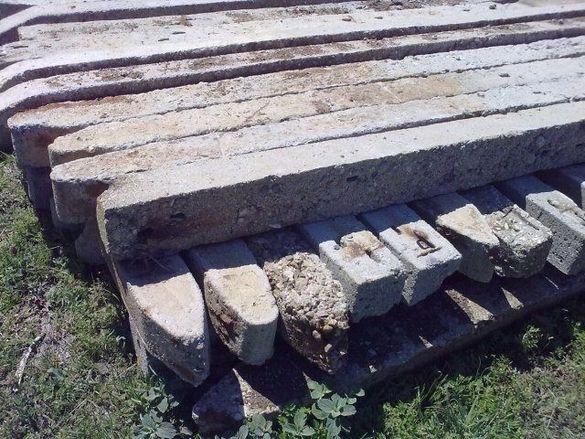 Продавам бетонни колове
