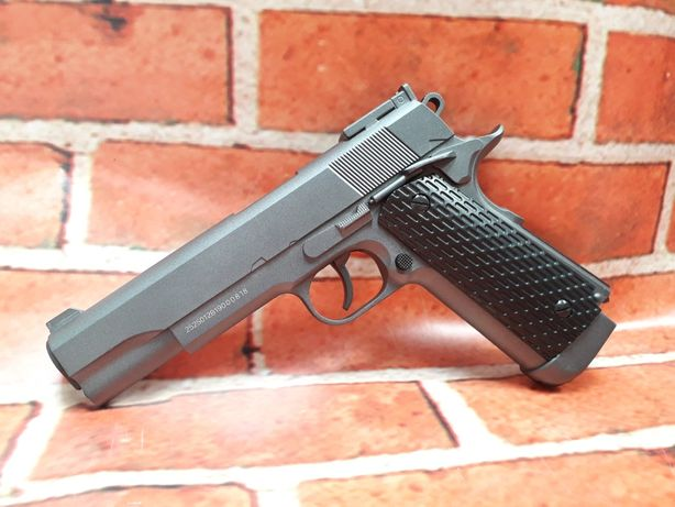 Reducere 4.5j upgradat Colt 1911 Full Metal pistol airsoft+cutie+co2