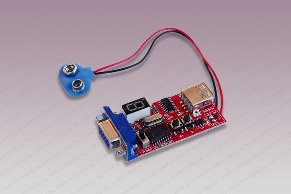ANIMABG VGA сигнал генератор (тестер)