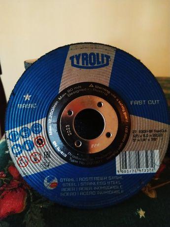 Disc de polizat 125x6