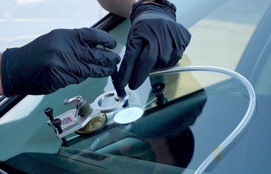 Ремонт трещин и сколов на лобовых стёклах