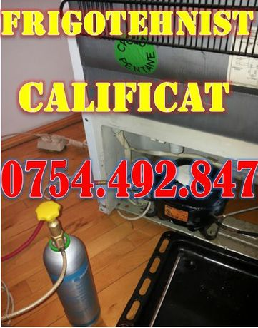 Reparatii frigidere la domiciliu Botosani - tot judetul