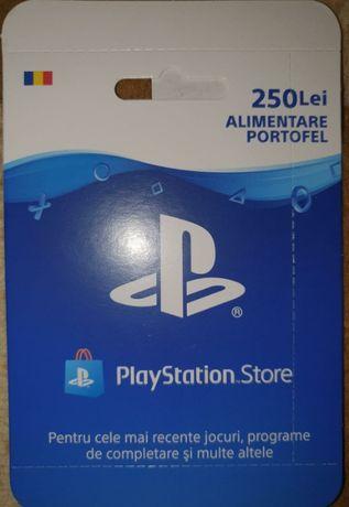 Card 250 lei Sony Plasystore - pt achizitii jocuri