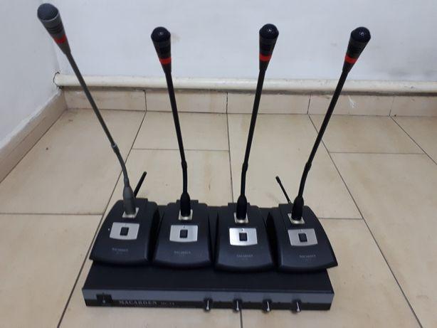 Комплект беспроводного оборудования для конференций (аренда)