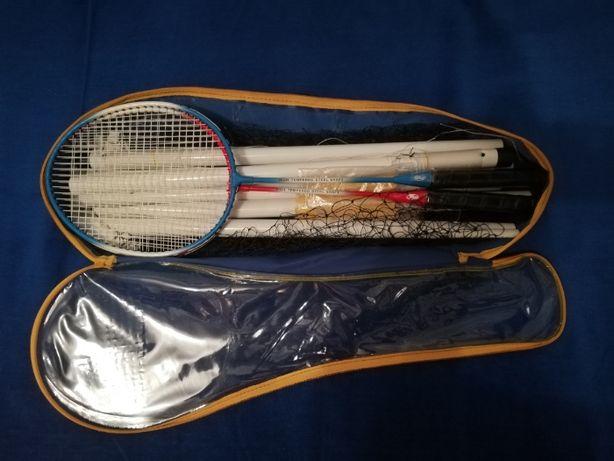 Set rachete badminton cu fileu