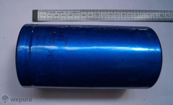 Кондензатор SIMENS 33 000 Мф/ 63 В за качествени усилватели