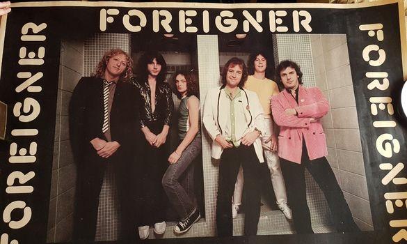 Плакати на Foreigner /оригинал/ и Bijelo Dugme