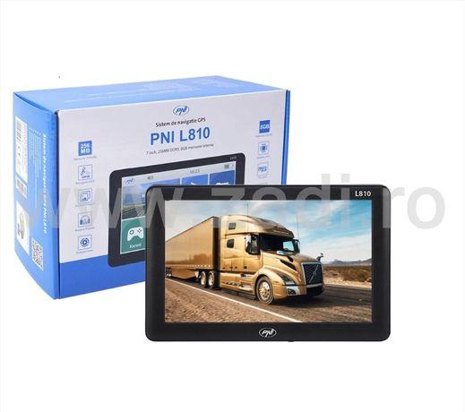 GPS PNI L810- Ecran mare, cat o tableta-suport, incarcator 12/24V