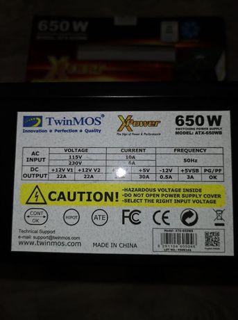 Продаю блок питание новый Xpower 650W