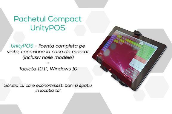"Sistem POS pe Tableta 10"" - 3 ani garantie, conexiune casa de marcat"