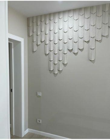 3Д мозайка, ПЕРЬЯ, 3Д панели, декор обои