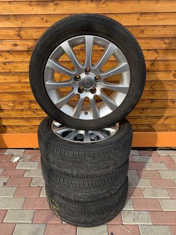 Set Jante aliaj și anvelope vara 195/55R16 Opel Corsa  Meriva zafira