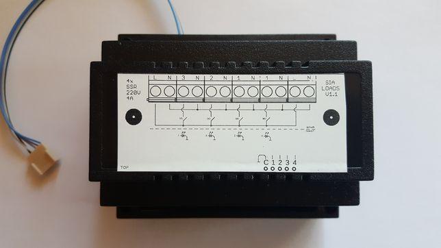 Releu electronic x4 SSR solid state relay pt. multiloader TTL