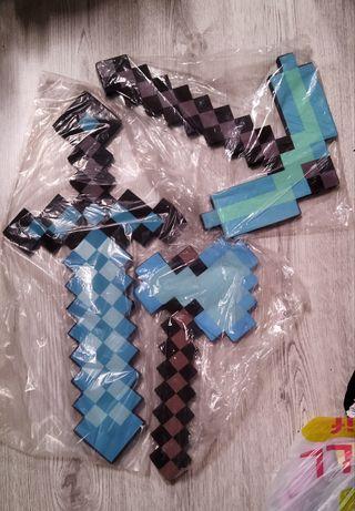 Меч, кирка, мотыга, топор, лопата,  Майнкрафт Minecraft