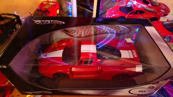 Метални колички Ferrari FXX,575 GTZ by Zagato -Hot wheels 1:18