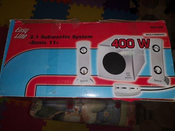 Subwoofer 400 w.