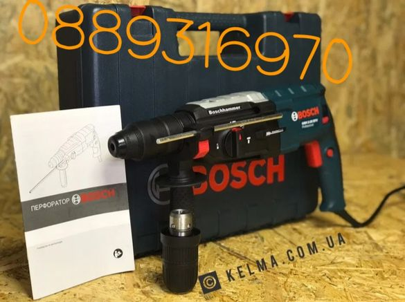 Перфоратор Къртач ударна бормашина ВOSCH GBH 2-28 880W perforator, бош