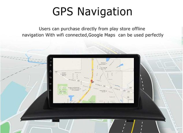 Navigatie BMW X3 E83, Internet, Android GPS, Bluetooth, Model X303