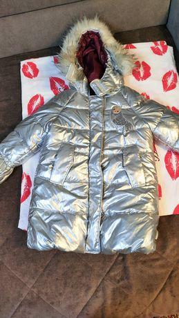 Продам куртку для девочек зима пуховик
