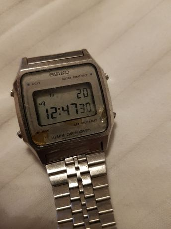 Seiko A914-5A09 Lcd Digital Chronograph Watch 1984 November