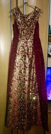 Срочно продам платье на выпускной или кыз-узату