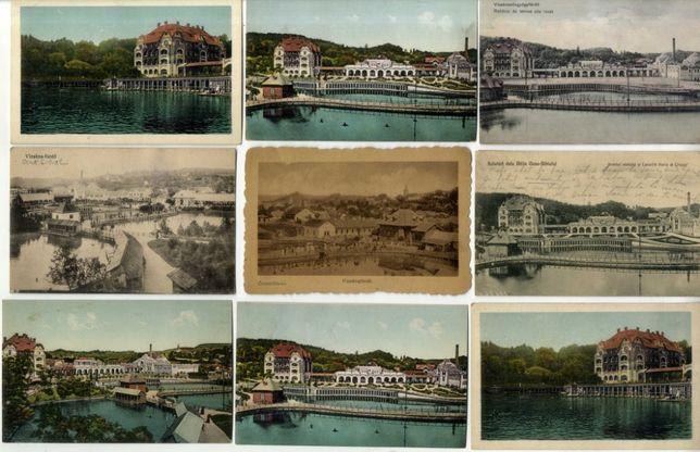 Carti Postale vechi/ Vederi - Baile Ocna Sibiului CP VECHI Romanesti