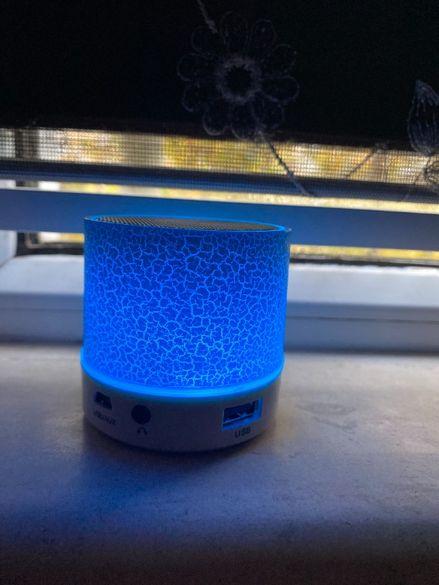 ТОП ПРОМОЦИЯ! Светеща Bluetooth колонка + Слушалки Самсунг AKG.