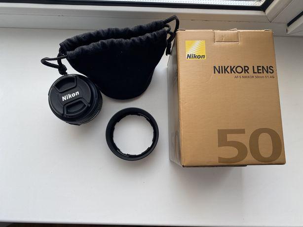 Объектив AF-S NIKKOR 50mm f/1.4G