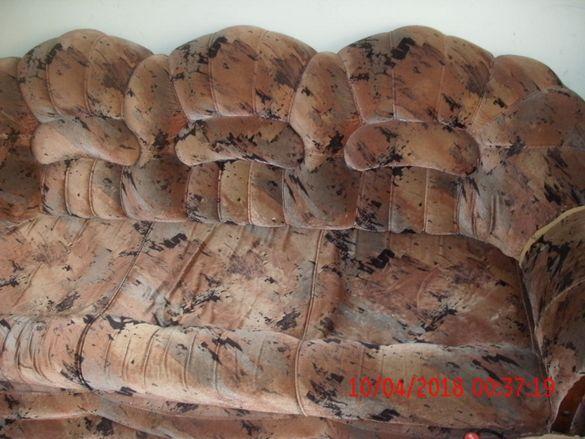 диван 3-ка + 2ка+ 2 фотйоила и масивно бюро тяло реклама по 50лв