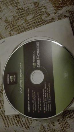 Диск с VGA софтуер на Nvidia GeForce