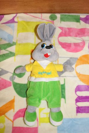 Заяц-рюкзак (мягкая игрушка)