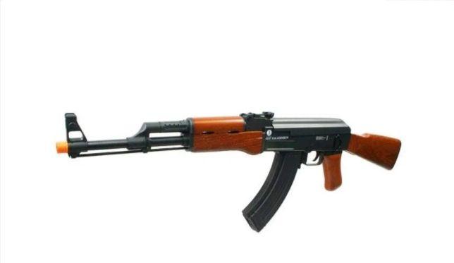 Arma airsoft pusca pistol carabina arc sniper shotgun Replica AKS-74B