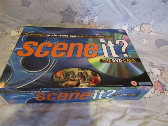 Сцена? DVD играта
