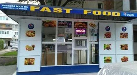 Kiosk - modul comercial
