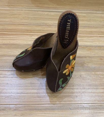 Сабо Туфли итальянские