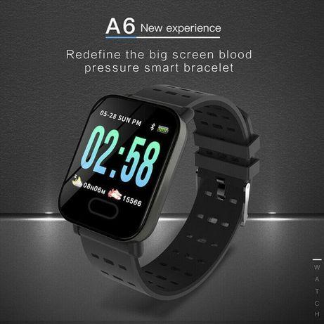 Смарт Часовник / Фитнес Гривна А6 Smart Watch / Band