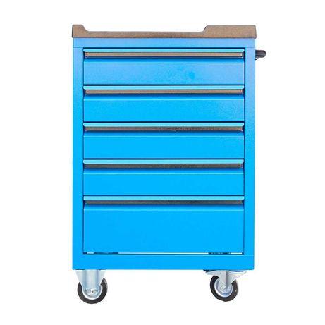 Dulap carucior pentru scule metalic cu 5 sertare 450x700x890mm