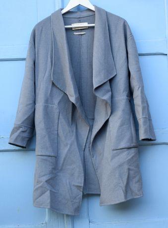 Palton Zara albastru marimea S