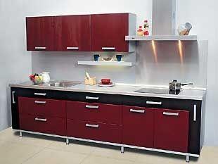 Замена кухонных столешниц, фасадов и фурнитуры.