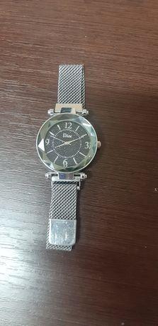 часы браслет наручные посеребряные без размерные женские