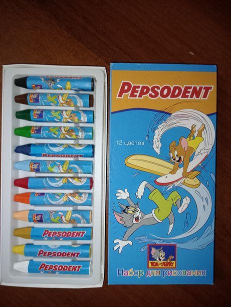 Цветные карандаши TOM end JERRY