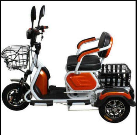 Tricicleta electrica 3 locuri ! varstnici / dizabilitati ! NOU!
