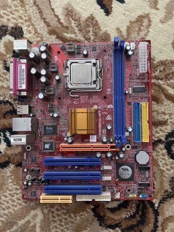 Материнская плата 775 Intel celeron