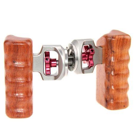 Pereche manere lemn prindere montura M6 ARRI/ RED Camera, Red Rig