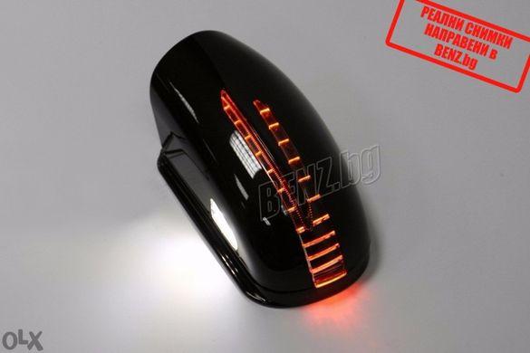 Капаци за огледала тип фейс с LED за C-class W202 Kapaci za ogledala t