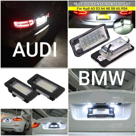 Leduri Led lampa plăcută număr Audi a3 a6 q7 BMW e82 e90 x5 x6 x3 e60