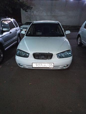 Продам отличный авто хюндай элантро 2003г двигатель привозной в хороше