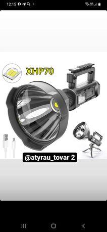 Мощный светодиодный фонарик W591 для рыбалки и охота