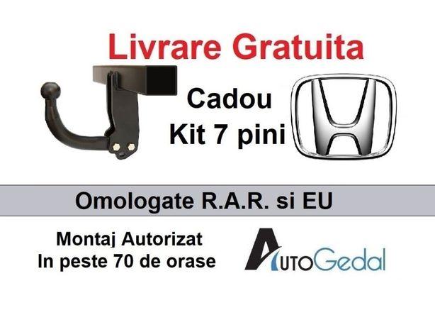 Carlig Remorcare Honda CR-V 2002-2007 Livrare Gratuita - Omologat RAR